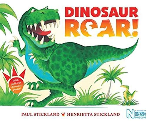 Free Story Time and Art Project: Dinosaur Roar