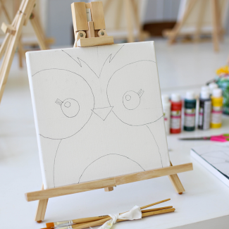 "Canvas Painting Kits (12"" x 12"")"