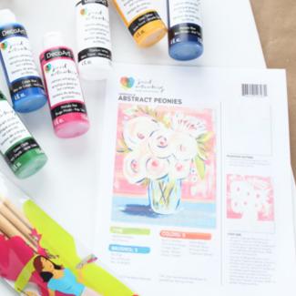 "Canvas Painting Kits (16"" x 20"")"