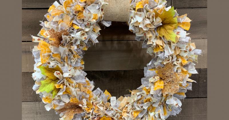 Fall Fabric Wreath Event
