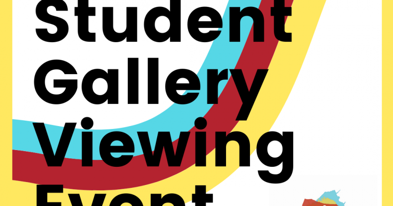 Spring Student Art Gallery Event