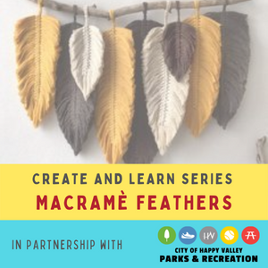 Macramè Feathers