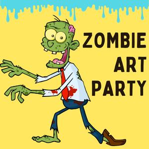 Zombie Art Party