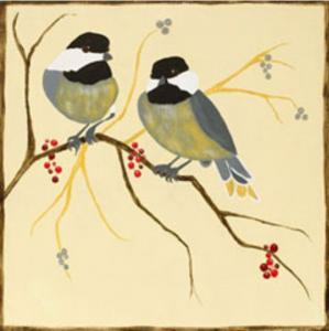 Chickadees and Berries (1)