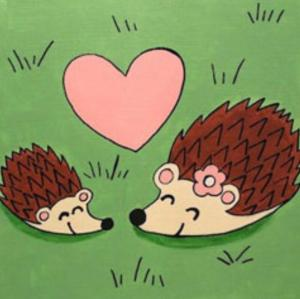Hedgehog Love (2)