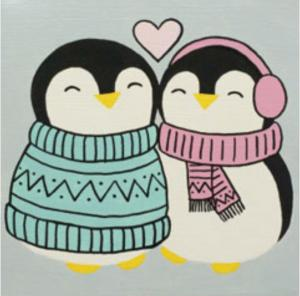 Penguin Love (2)