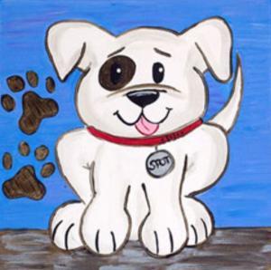 Playful Pup