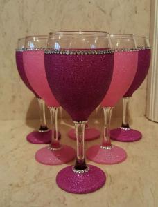 Pretty in Pink Glitters