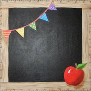 School Days (Chalkboard)