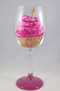 Swirly Cupcake