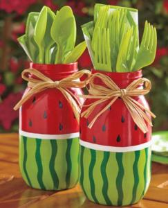 Watermelon Mason Jars (1)